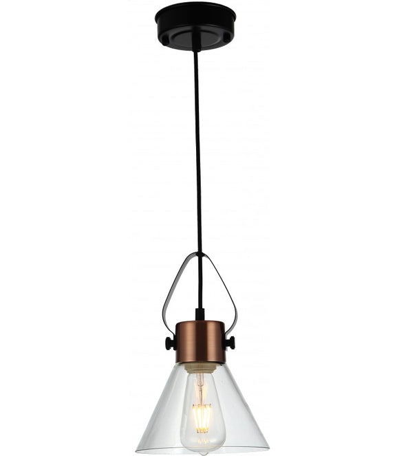 Radiant JC146-BZ/A -Pendant Glass - 230V E27 40W