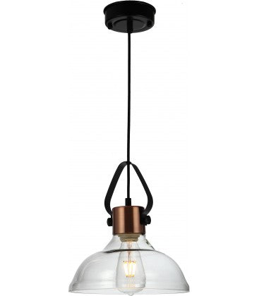 Radiant JC148-BZ/CL -PENDANT GLASS – 230V E27 40W