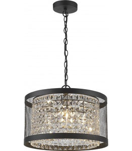 Radiant JC151-CL/BL - Pendant Light-230V E14 3X14W 3-Light