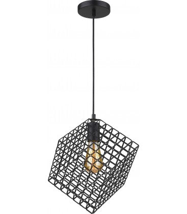 Radiant JC155-BL -SQUARE PENDANT LIGHT-230V E27 1X14W 1-LIGHT