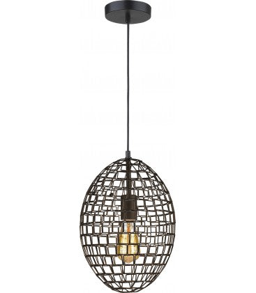 Radiant JC156-BL -Oval Pendant Light - 230V E27 1X14W 1-Light