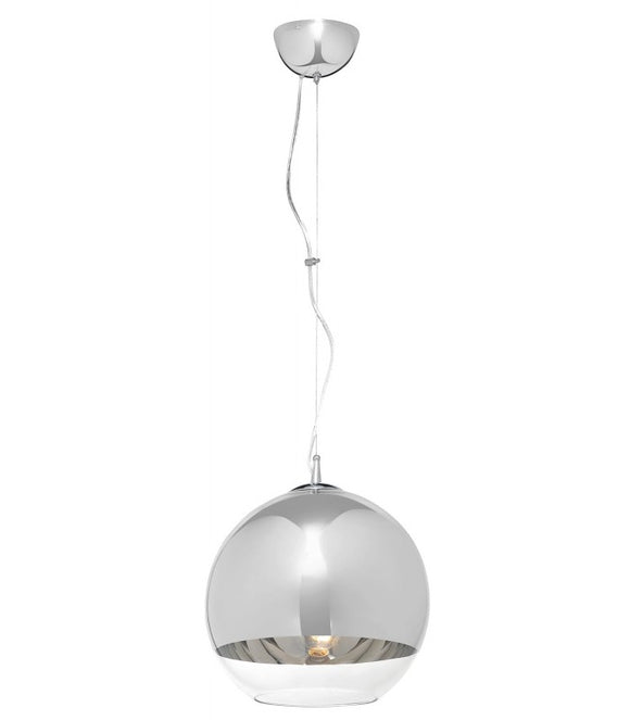 Radiant JG12 - Chrome Pendant 230v - Gemini 300mm