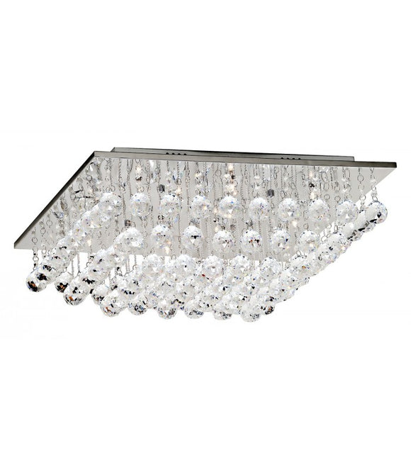 Radiant JH131 Ceiling Light 12V - CUBOID 12-Light Crystal