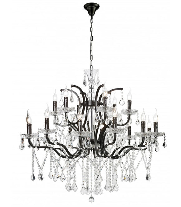 Radiant JP502 Chandelier-230V - ASH 12+6-Light