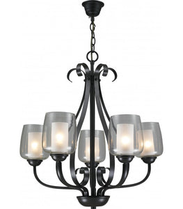 Radiant JP517 - Chandelier-230v  5-light