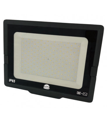 RADIANT LSF0004 Black LED Outdoor Floodlight - 100W