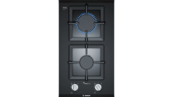 Bosch 30cm 2 Burner  Gas Hob  - Glass Top - Serie 6- PSB3A6B20Z