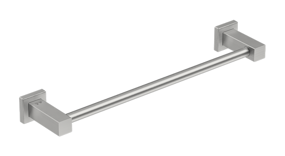 8570 Single Towel Rail - Polished - Stainless Steel - Bathroom Butler