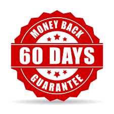 60 days money back gurantee