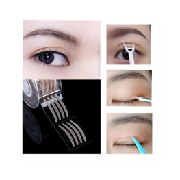 Anti-Aging Eyelid Tape (Contains 100 Strips) anti aging eyelid tape beauty accessories display-limited double before and after eye Health &