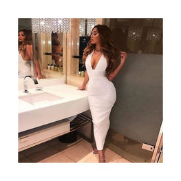 Backless Pencil Bodycon Dress ForeverflyStore backless dress - Bandage - Clothing_dresses - display-limited