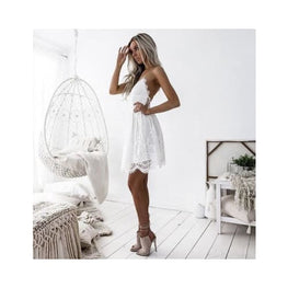 Backless Spaghetti Strap Lace Dress display-limited Dresses multi-buy-prompt Price_20 to 25 Apparel & Accessories > Clothing 5