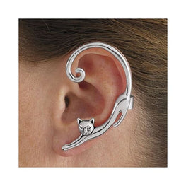 Cat Post Earring | Single Ear Cuff Foreverfly Accessories - beauty accessories - earring - cat post - display-limited