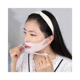Double Chin Lifting Treatment V-Line Mask 4-Sheets Foreverfly Custom - display-limited - double chin mask review - face lift reviews - slim