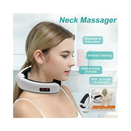 Electric Acupuncture Magnetic Therapy Neck Massager Beauty display-limited electrical electricals multi-buy-prompt