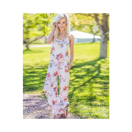 Floral Print Jumpsuit casual jumpsuit cheap jumpsuits online plus size display-limited floral print 1