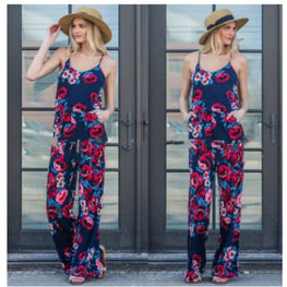 Floral Print Jumpsuit casual jumpsuit cheap jumpsuits online plus size display-limited floral print 17
