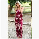 Floral Print Jumpsuit casual jumpsuit cheap jumpsuits online plus size display-limited floral print 3