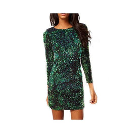 Green Sequin Backless Bodycon Dress Foreverfly Store - Clothing_dresses - display-limited - Dresses - multi-buy-prompt