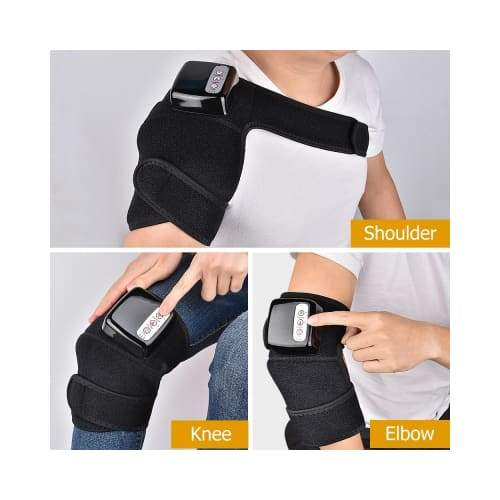 Heated and Vibration Massage Knee Pads