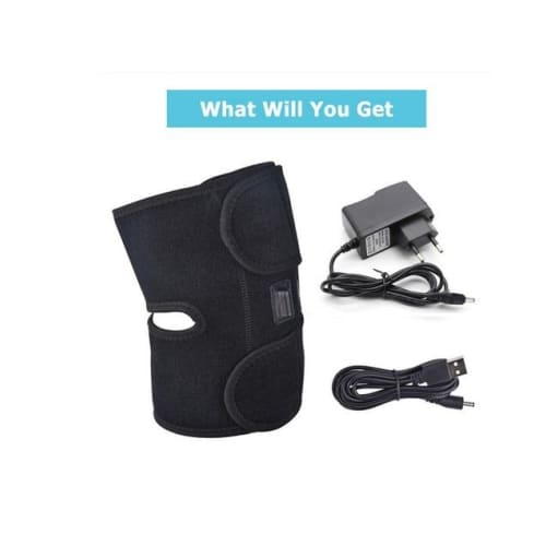 Heating Knee Pad to Warm Joint Relief Pain