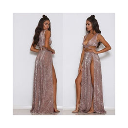 High Slit Bodycon Cleopatra Dress Clothing_dresses display-limited Dresses long dress 1
