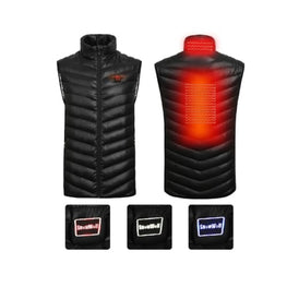 Intelligent Rechargeable Heated Vest battery heated body warmer vest clothing 1