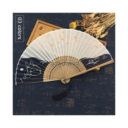 Japanese Folding Bamboo Hand Fan Foreverfly Accessories - bamboo folding hand - best halloween products 2015 - 2019 - fan
