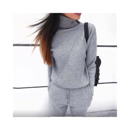 Knitted Turtleneck Tracksuit 2 Piece Set Foreverfly Store Clothing_knitwear - display-limited - knitted - multi-buy-prompt - Price_35 to 40