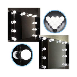 LED Vanity Mirror Foreverfly bathroom mirror with lights - beauty tools - best lighted makeup - magnifying - light