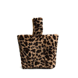 Leopard Print Tote Bag Foreverfly Store Accessories - animal print - Clothing_animal-print - display-limited - leopard