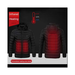 Mens Heated Body Warmer battery heated jacket body warmer Clothing & Accessories coats Winter Essentials 1