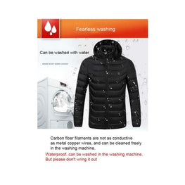 Mens Heated Body Warmer battery heated jacket body warmer Clothing & Accessories coats Winter Essentials 21