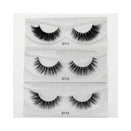Mink Eyelashes 3D Lashes eyes lashes Cruelty free display-limited Eye Eyeshadow 1