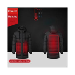 Outdoor Electric Heating Jackets Foreverfly battery heated jacket - body warmer - clothing - Heated Clothing & Accessories - coats