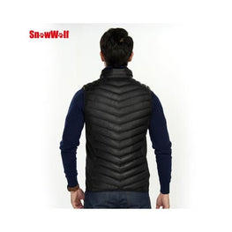Outdoor USB Heated Vest heated base layer body vests warmer warmers clothing 3