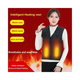 Outdoor USB Infrared Heating battery heated base layer uk body warmer warmers clothing Heated Clothing & Accessories Winter Essentials 8