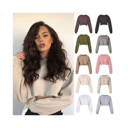 Oversize Cropped Sweatshirt Clothing croptop display-limited multi-buy-prompt Price_05 to 10 Crop top 1