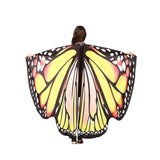 Pashmina Shawl Scarf Accessories best halloween products 2015 2019 butterfly wing scarf Butterfly Wings Halloween 20