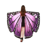Pashmina Shawl Scarf Accessories best halloween products 2015 2019 butterfly wing scarf Butterfly Wings Halloween 17