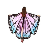 Pashmina Shawl Scarf Accessories best halloween products 2015 2019 butterfly wing scarf Butterfly Wings Halloween 10