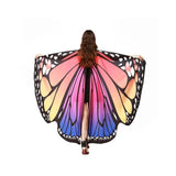 Pashmina Shawl Scarf Accessories best halloween products 2015 2019 butterfly wing scarf Butterfly Wings Halloween 5
