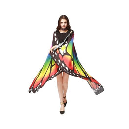 Pashmina Shawl Scarf Accessories best halloween products 2015 2019 butterfly wing scarf Butterfly Wings Halloween 32