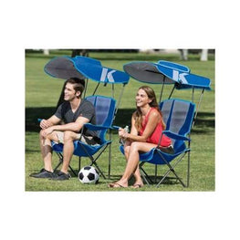 Portable Camping Foldable Chair With Shade foreverfly beach chair and umbrella set - with canopy - cup holder - chairs on sale - walmart