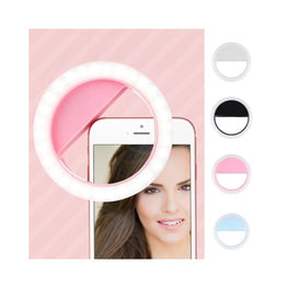 Portable Selfie LED Ring Light for Phone Camera Foreverfly Accessories - beauty accessories - display-limited - electrical - electricals