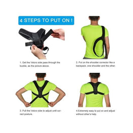 Posture Corrector Achieving a better walking posture back pain beauty accessories Beauty Therapy Therpy Health & 9