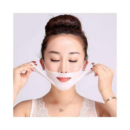 Premium V Shape Face Slimming Mask Foreverfly beauty - Beauty Therapy - cheek slimming - chin shapes - strap for double