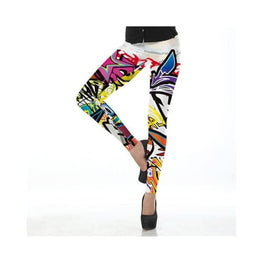 Printed Leggings Foreverfly Athleisure - Clothing - Clothing_tights-athleisure - display-limited - fitness