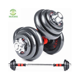 Promote Adjustable Weight Lifting Black 20 Kg 40Kg Dumbbell