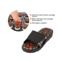 Reflexology Foot Massage Slippers Foreverfly acupressure foot - points feet - on - sandals - shoes